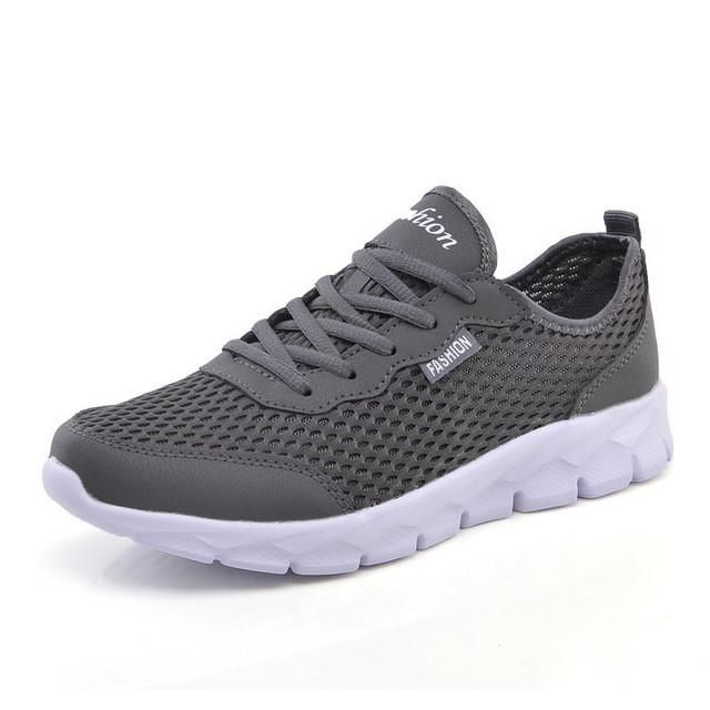 Men Casual Shoes Breathable Lace-Up Lightweight Comfortable