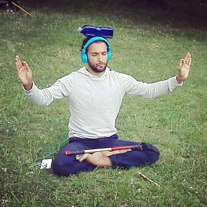 Using bottle with    for balance exercises.. #nature #meditation #sacredgeometry #mind #bodymindspirit #unconditionallove #spirituality #spirit #earthdragon #hostivar #royaldragon #dancingdragonprague #adammichal #destiny #prague #praha #czech #higherself #mindfullness #prana #freedom #instagood #spiritualawakening #loveit #balance  #bug  #instafollowers