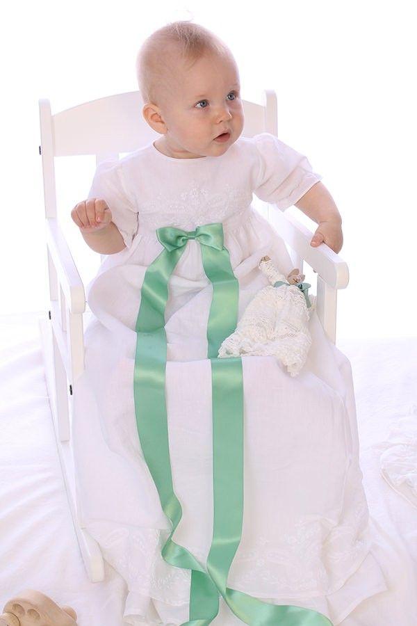 Aarhus Christening Gown from Oli Prik for €124 only at christeningwearcopenhagen.com Christening Gowns