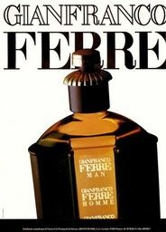 "The Golden Years of Perfumery: an Interview. Gianfranco Ferre:One of the most appreciated perfumes produced by Diana de Silva: tha acclaimed ""Ferre for Men"" (1986)"