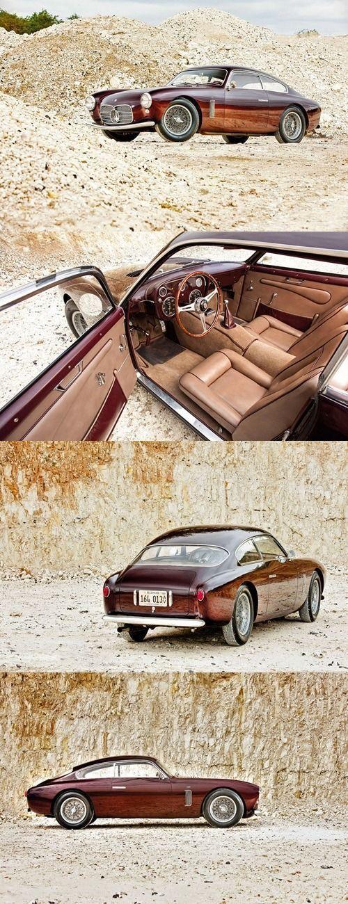 1955 Maserati A6G/54 Zagato Coupé. #maserativintagecars