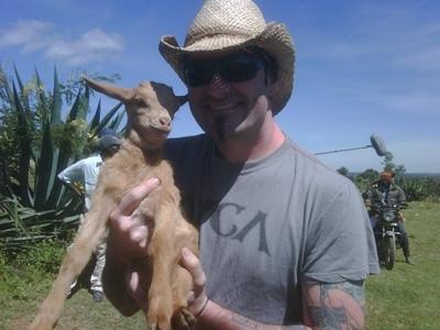 Tommy Mac in Kenya