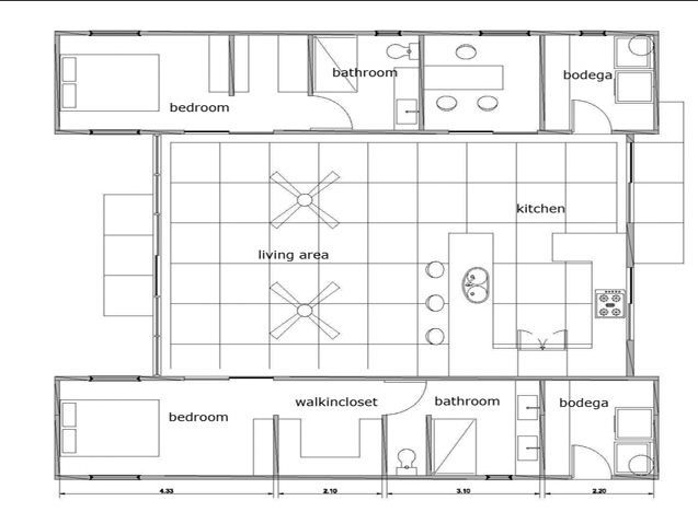 51 best Container House Plans images on Pinterest | Shipping ...