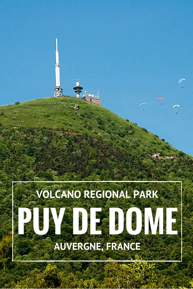 Puy de Dome - Climb a volcano in Auvergne, France