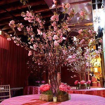 Cherry Blossom Wedding Centerpieces | Tags: cherry blossoms wedding centerpieces , cherry blossoms wedding ...