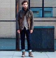 """""""Helt plötsligt stod jag där en dag på perrongen med skägg i ansiktet, lurvig kofta och upprullade jeans. Varför?"""" Jo, mannen på bilden har drabbats av hipsterparadoxen: en person som vill vara unik men som plötsligt ser likadan ut som alla andra i kvarteret. En paradox som kan beskrivas med formeln nedan. Bild: Pull&Bear"""