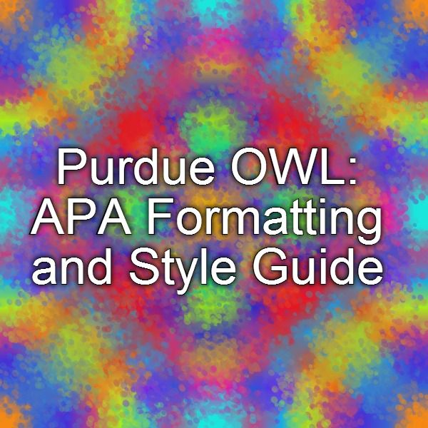 when using apa formatting for research paper reference page How to cite references using apa style this resource offers examples for the general format of apa research papers, in-text citations, endnotes/footnotes.