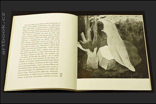 Šíma - KATALOG VÝSTAVY PRACÍ JOSEFA ŠÍMY. Galerie Vaněk, 1931. – Antikvariát PRAŽSKÝ ALMANACH