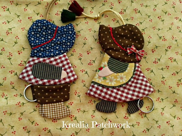 Lovely Patch: Tutorial Llaveros Sue
