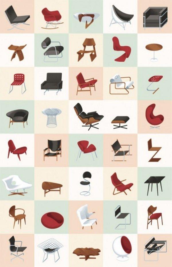 25 beste idee n over vintage meubels op pinterest for Deense meubels vintage