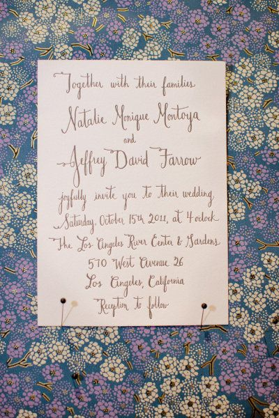 39 best Calligraphy Samples images on Pinterest Wedding - formal invitation style
