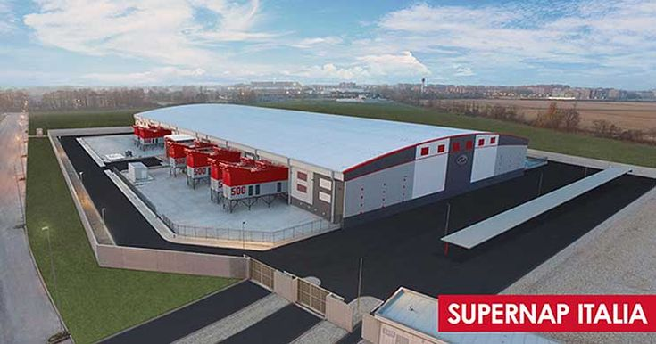 The SUPERNAP Design Goes Global With Milan Data Center