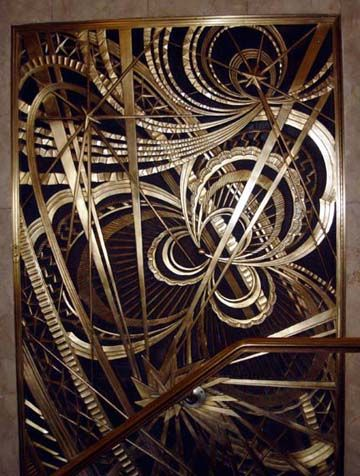 New York Architecture Images- New York Art Deco  Metalwork