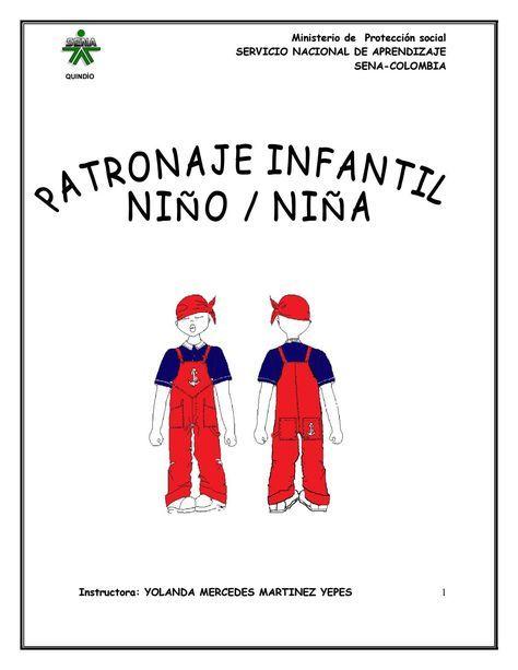 curso patronaje infantil nino nina