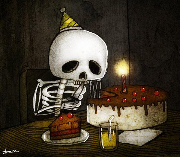 Skeleton | Gothic | Pinterest | Facebook, Geburtstag und ...