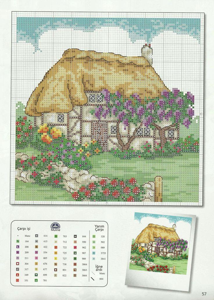 Cottage needlework chart