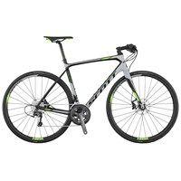 Scott Solace 30 Disc 2017 Flat Bar Road Bike Grey - Buy Online £1,898.99