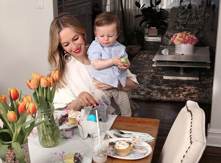 Nate's First Easter | Brooklyn Blonde x Pottery Barn Kids | Brooklyn Blonde