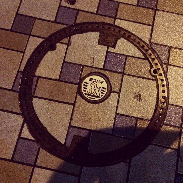 横浜市下水道局のキャラクター。かばのだいちゃん。 いろんな「だいちゃん」が存在したらしいけど、平成8年にデザインを統一したそうな。これも「だいちゃん」らしいけど、今のだいちゃんと違う。