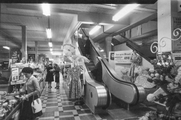 Shopping in Australia in 1960's