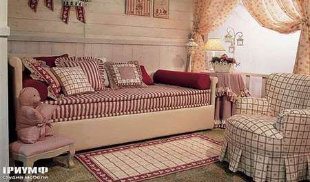 Medison кровать со спинкой. Мебель  Halley