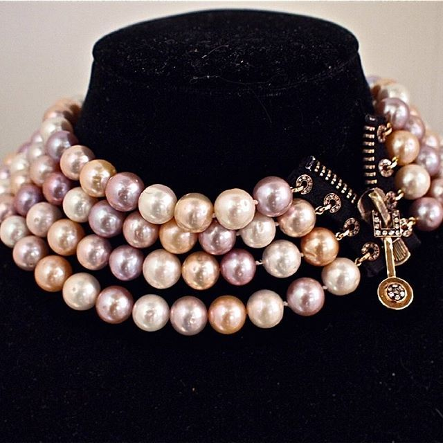 Dazzling #necklace by @patrice.fabre #patricefabre #jewelry#jewellery#gemstone #gem #hautejoiallerie #highjewelry #diamond #design #amazing #cute #love #beautiful #beauty #happy #instagood #fashion #follow #followme #life#art #finejewelry #finejewellery #mariigem #handmade #luxuryjewelry #pearl #gold #paris