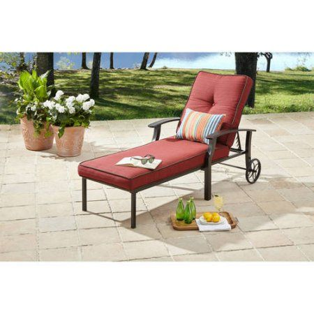 buy better homes and gardens carter hills chaise lounge at walmartcom