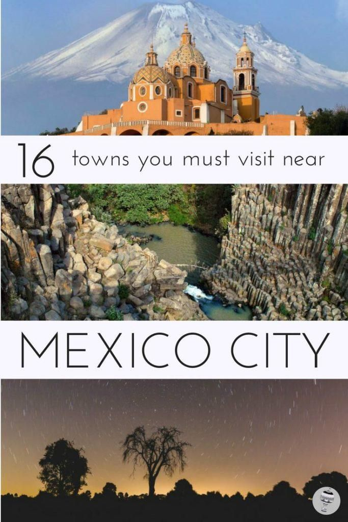 Mexico is filled with hundreds of colourful pueblos magicos (magical towns) and characterful villages; here are some of the best within easy driving distance of Mexico City I #FamilyTravel