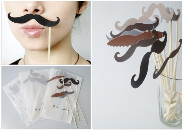 Mustache Sets by faltmanufaktur