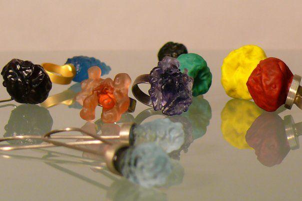 Vendulka Prchalová: Návrat (kolekce šperků)