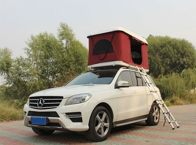 The James Baroud Discovery Extreme Evolution Roof Top Tent Is The Only Hard Shell Rooftop Tent In Its Price Range That Offers Addi Land Rover Jeep Todo Terreno