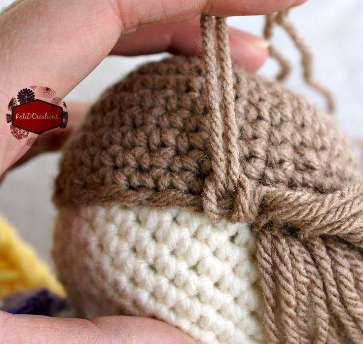 Crochet Pattern For Doll Hair : Lovely Marie Crochet! Its my yoga Pinterest Dolls ...
