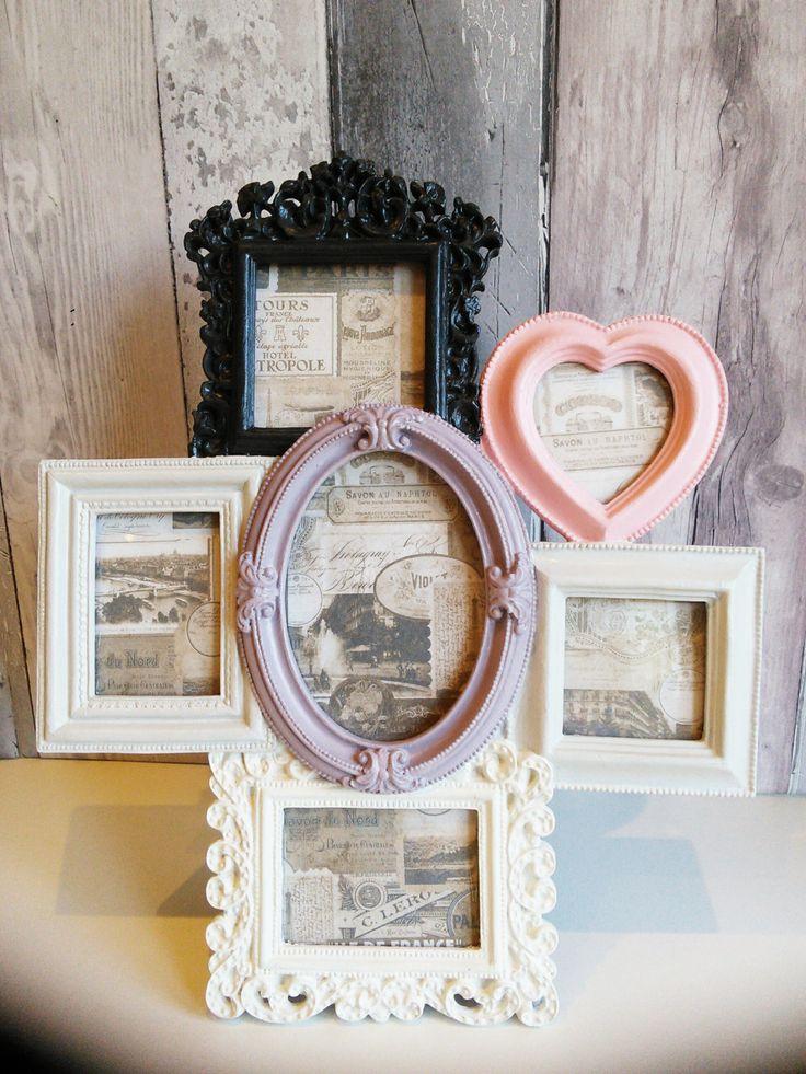Vintage Style Multi Photo Frames Frameswalls