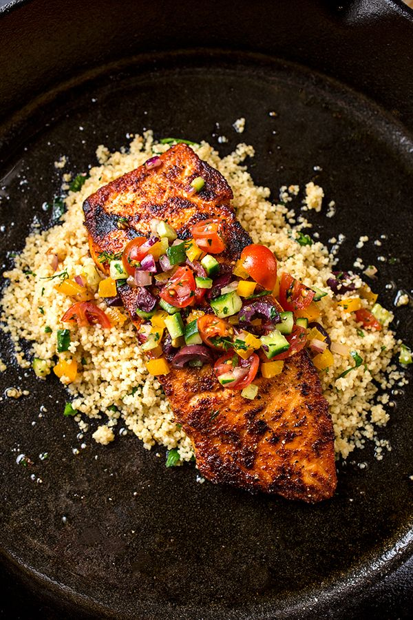 Add this #simple & tasty Pan Seared Salmon to your list of favorites - you'll never be disappointed.