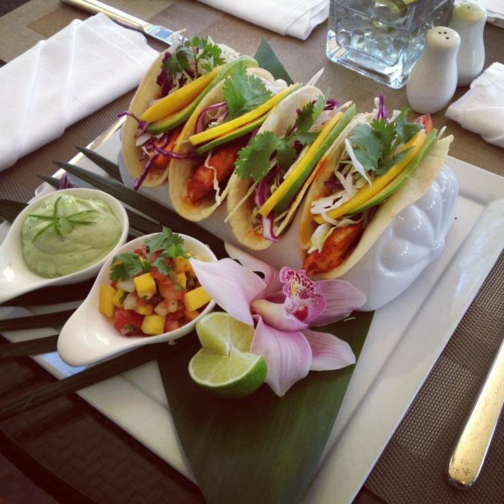 Mahi Mahi Tacos at Monarch Beach Resort