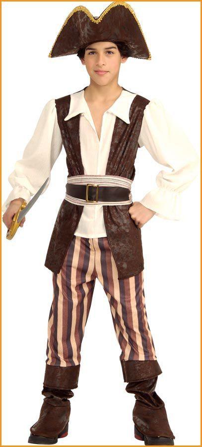 Kids Pirate Costumes Seven Seas Pirate Boy Costume Like the longer vest #diypira…