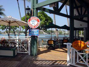 Kona Canoe Club...Restaurant in Kona. Hawaii...