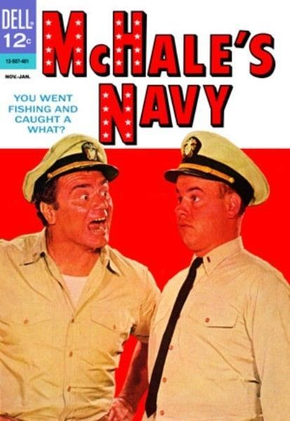 Comic Covers - McHale's Navy No. 3, November - January 1964 Canvas Poster 16x24 #PopArt