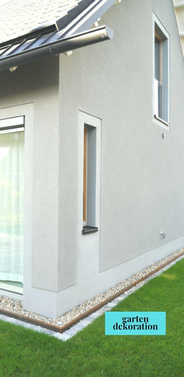 Wohnhaus Dachrinne Zinkblech Rauputz Glattputz Architekturburo Achterk Outdoor Decor Home Home Decor