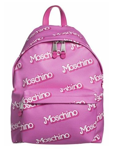 MOSCHINO - Pink backpack #alducadaosta #newarrivals #moschino #runway #capsule #collection #think #pink #style #fashion #cool #love #girl #women #apparel #accessories