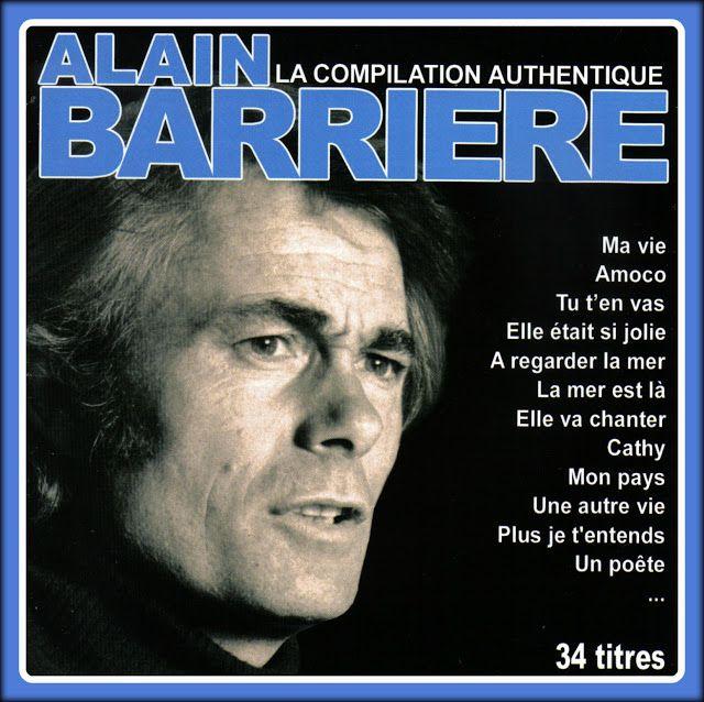 МЕЛОМАНЧИК !: Alain Barrière  - La Compilation Authentique
