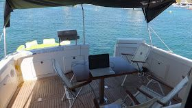 Ok, I had to work somewhere and there is no better place to set up office on Thompson Bay on Rottnest Island. Just 17 kilometres off the coast from the port city of Fremantle, this is in my opinion Perth's best office.