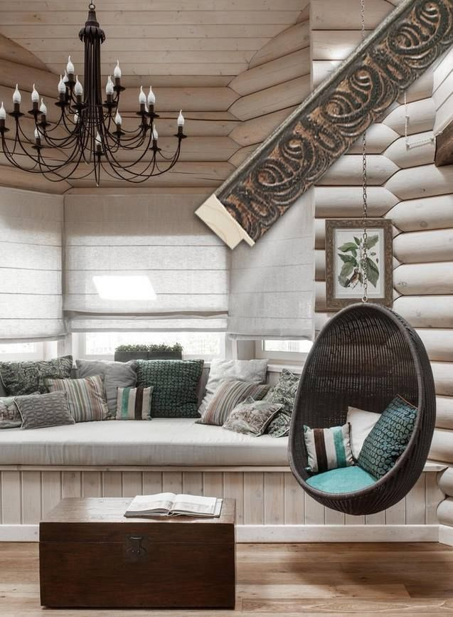 What an interesting and inviting sitting area designed with a transitional style. The moulding selected to custom frame the botanical image shown on the beautiful log wall combines a rustic finish with an ornate pattern that meshes well with the other decor in the room. Fotiou moulding: 8816BL from the Garden Gates series http://fotiou.com/products/8816bl/ #customframing #framing #fotiou #moulding #livingrooms #interiordesign #pictureframing #homedecor #pictureframes #framinginspiration…