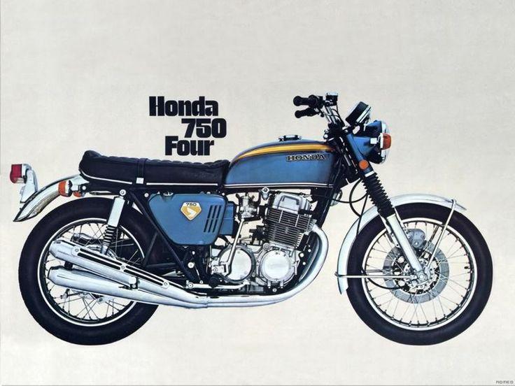 Honda Cb 750 Four K0 MotorbikesHonda Cb750Honda MotorcyclesVintage