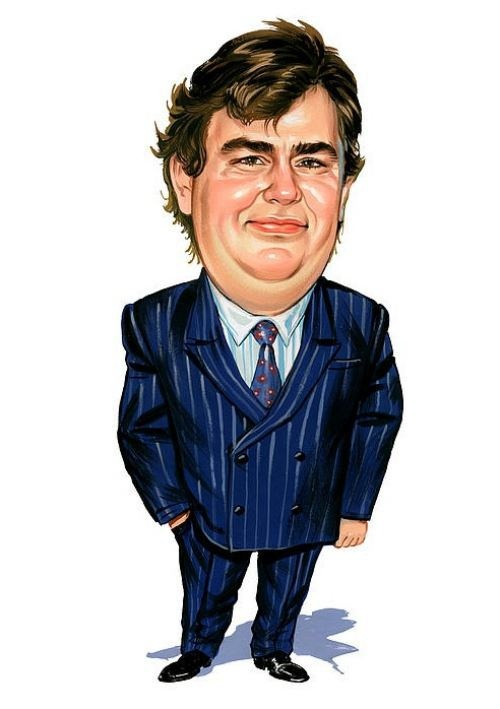 Celebrity Caricatures Pictures : John Candy