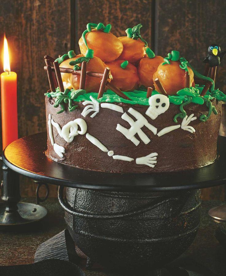 asda good living pumpkin patch cake
