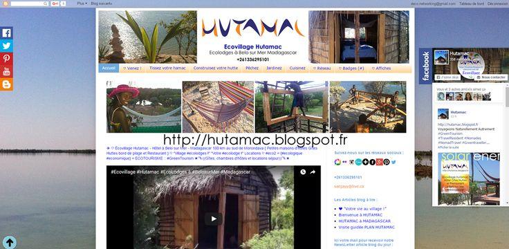 """✈️ ♡ Écovillage Hutamac - Hôtel à Belo sur Mer - Madagascar 100 km au sud de Morondava { Petites maisons d'hôtes Gîtes Huttes bord de plage et Restaurant } ♡ """"Village #ecolodges !"""" """"Votre #ecolodge !"""" Locations ♡ #eco2 = {#ecologique #economique} = ECOTOURISME :: #GreenTourism ☀️ ️️((Gîtes, chambres d'hôtes et locations séjour)) ☀️ http://hutamac.blogspot.fr/"""
