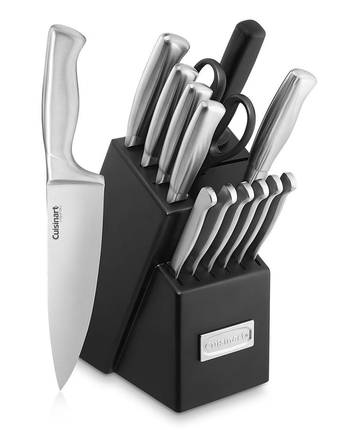 Another great find on #zulily! Hollow Handle Knife Block Set by Cuisinart #zulilyfinds