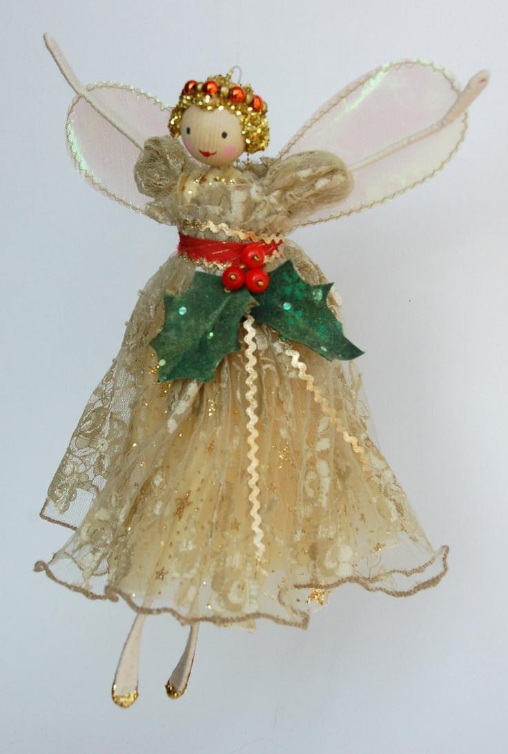 Fairy christmas ornaments - Christmas Angel