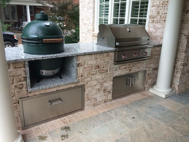 The 25+ Best Big Green Egg Outdoor Kitchen Ideas On Pinterest | Big Green  Egg Bbq, Big Green Eggs And Egg Grill